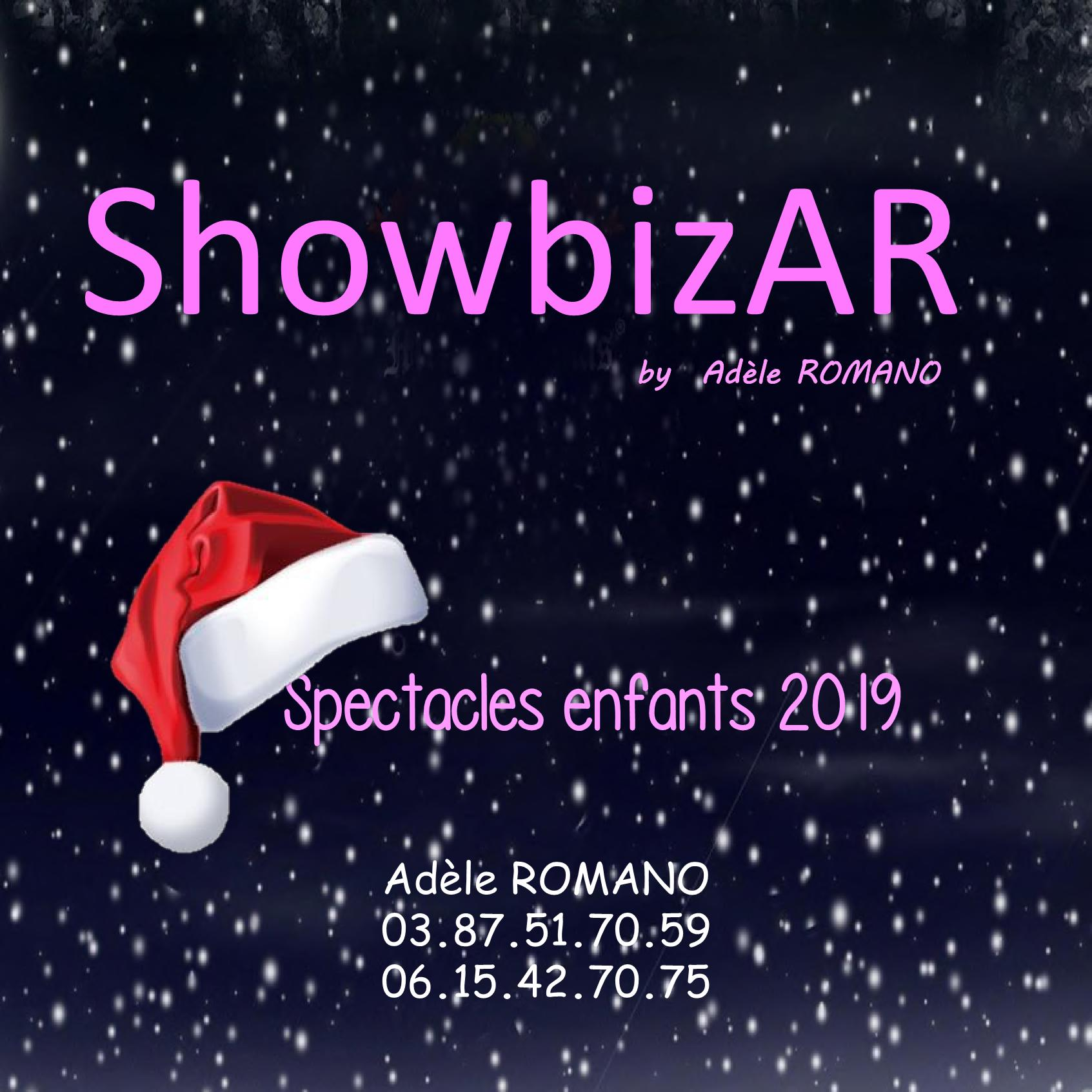 Catalogue Spectacles pour enfants ShowBizAR